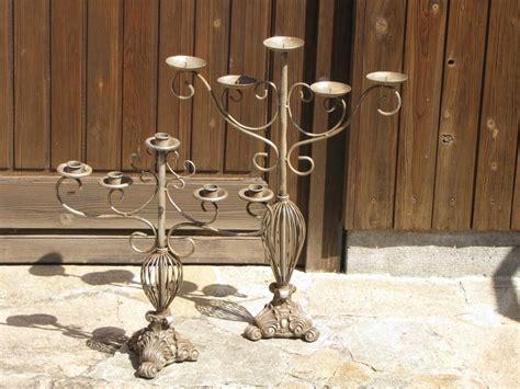 kerzenleuchter stumpenkerzen vintage kerzenleuchter 5 armig f 252 r stumpenkerzen