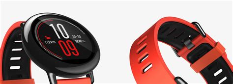 Xiaomi Amazfit Internasional Upversion Smartwatch With Rate Gps international xiaomi mi huami amazfit pace smartwatch band touch screen wifi gps rate