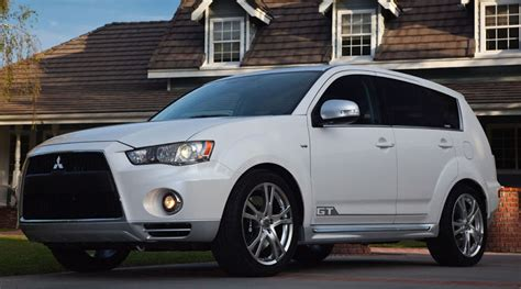 2009 new york auto show mitsubishi teases outlander gt 2010 mitsubishi outlander gt prototype review new car used car reviews picture