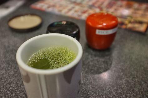 Berapa Bubuk Teh Hijau cara menikmati teh genmaicha dan ryokucha di restoran
