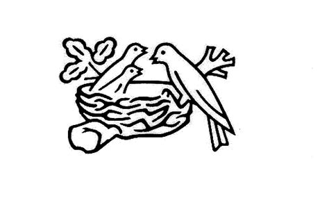logo black and white birds in a nest 28 images baby