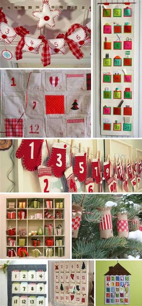 Handmade Advent Calendar Ideas - advent advent calendar and calendar on