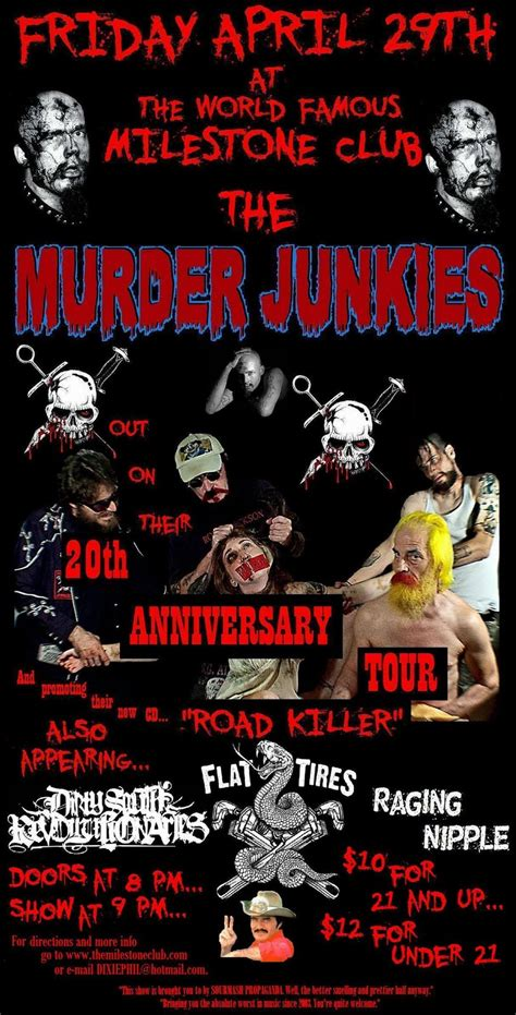 The Flat Tire Murders flat tires and murder junkies