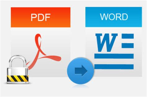 convert pdf to word tutorial how to convert password protected pdf file to word