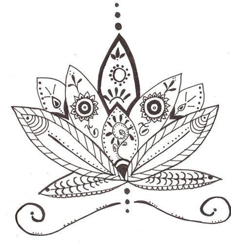 fleur de lotus mandala coloriagetv flor de loto para honrar el cumplea 241 os de la mejor profe