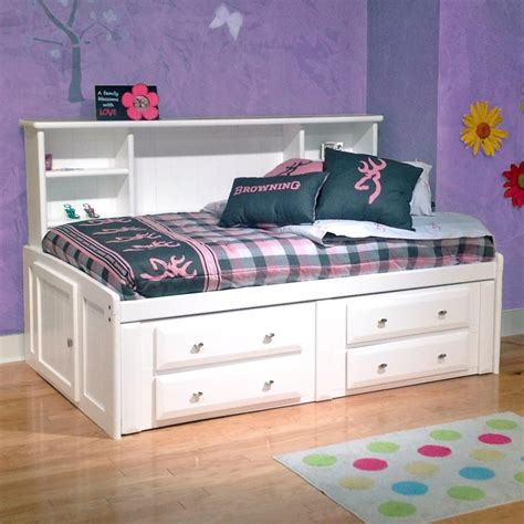 Roomsaver Bed by Trendwood Laguna Roomsaver Bed With Four Drawer