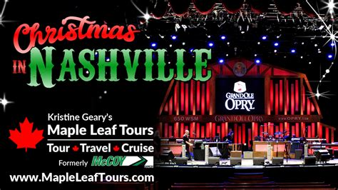 nashville christmas lights tour christmas in nashville with kristine geary s maple leaf