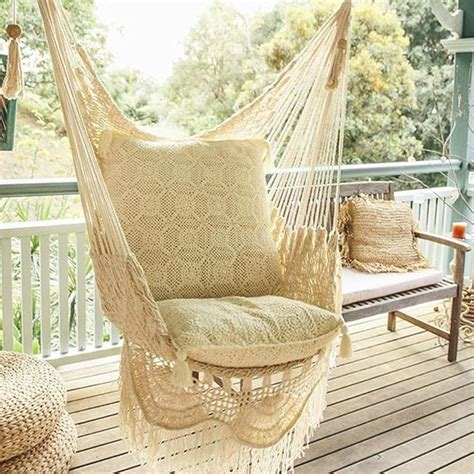 macrame hammock chair hanging hammock chair with macrame solid color swing