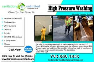 charlotte cleaning specials sanitations unlimited