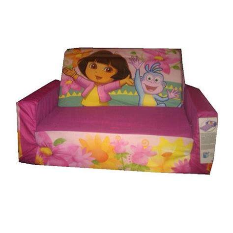 dora flip open sofa kids sleeping bags with pillow august 2012