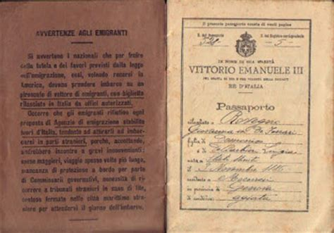 lettere di emigranti italiani il museo dell emigrazione a lucca