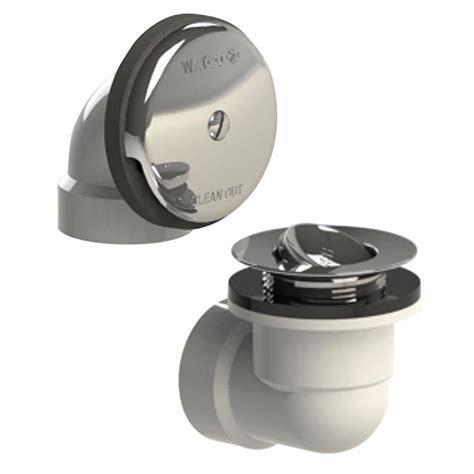 watco bathtub faucets watco 601 series sch 40 pvc bath waste half kit with