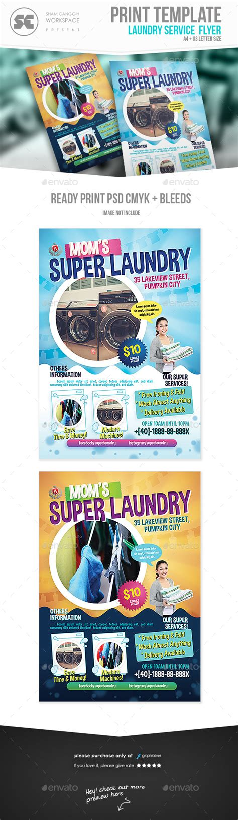 ironing service flyer template ironing flyers templates 187 tinkytyler org stock photos