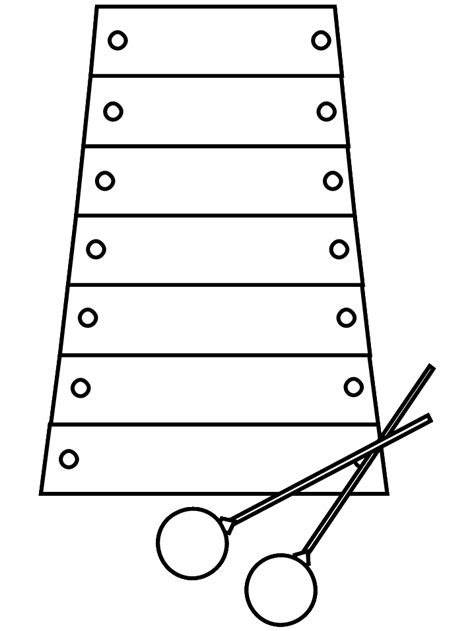 free coloring pages of xylophone coloring xylophone xylophone coloringpage xylophone