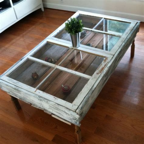 coffee table made from window 25 best ideas about window coffee tables on
