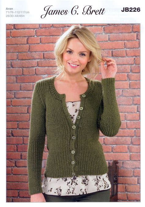 knitting pattern aran cardigan aran knitting patterns ladies cardigans crochet and knit