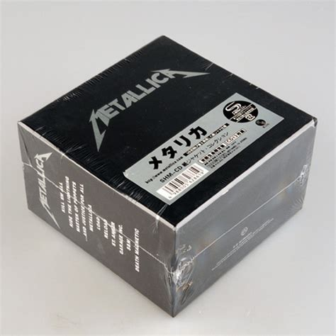 Cd Box Set Metallica The Album Collection metallica the album collection quot 13 cd japan shm cd box set limited edition cad 44 11