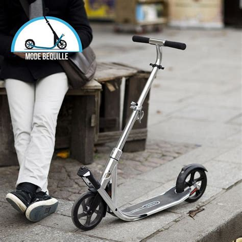 cadenas trotinette decathlon oxelo town 7 easy fold adult scooter review