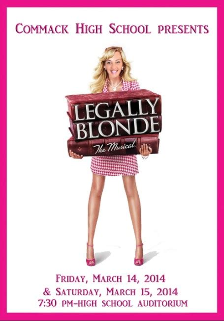 Commack High School Presents Legally Blonde   The Huntingtonian