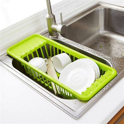 Sink Drain Rack Rak Cuci Piring 2 kitchen sink drain rack cutlery shelving treatment of