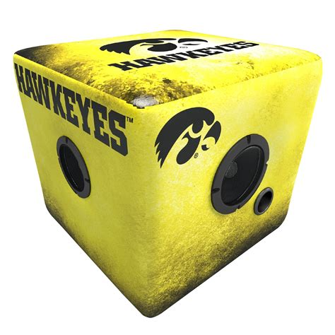 ottoman iowa rainmaker iowa hawkeyes bluetooth speaker ottoman yellow blk