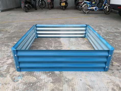 china xx metal raised garden bed suppliers