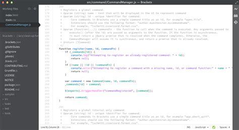 theme editor for java adobe brackets ブラケッツ のテーマの追加インストールと変更方法 ハジプロ