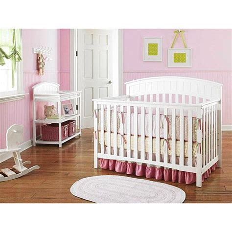 crib and changing table bundle graco charleston 4 in 1 crib with mattress dressing