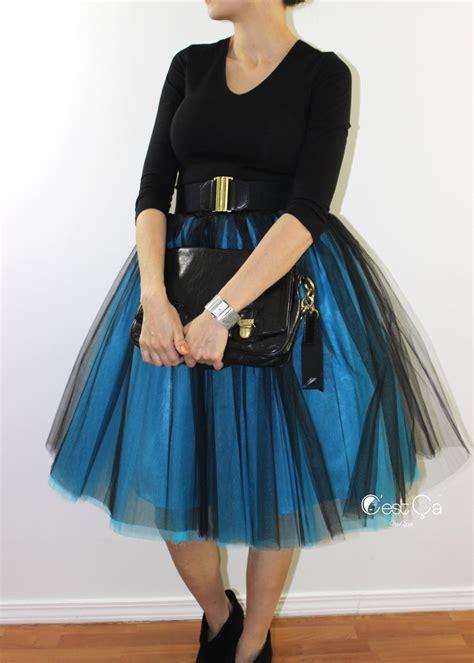 ciara ombr 233 tulle skirt midi c est 199 a new york