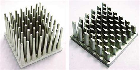 pin fin heat sink metal injection molding of heat sinks electronics