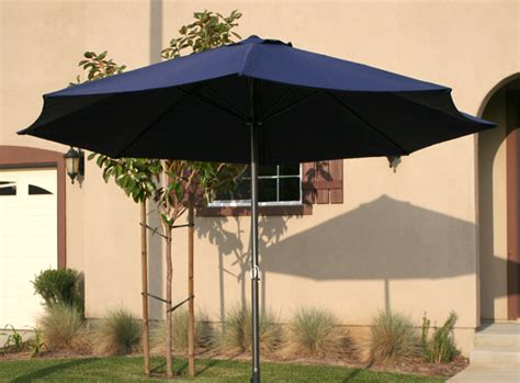 deluxe 12 ft outdoor patio market umbrella aluminum deck