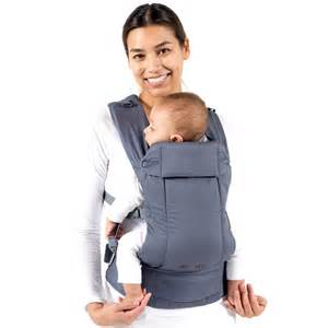 Baby Safe Foldable Baby Carrier grey beco baby carrier