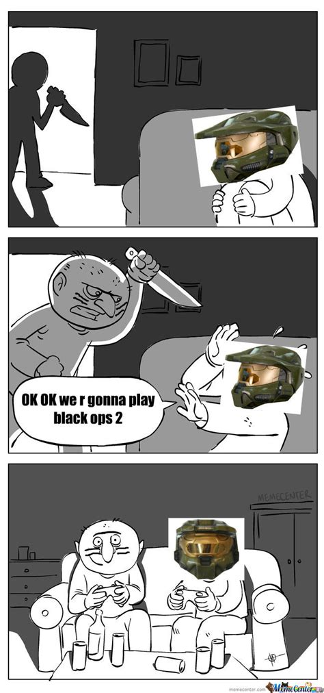 Call Of Duty Black Ops 2 Memes - call of duty black ops 2 in halo version by hassoonex