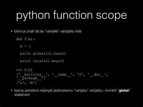 inner function python funkcija objekt python