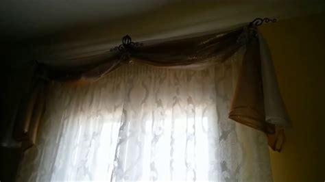 come si cuce una tenda porta fourlard per mantovane con telo reginella medaglioni