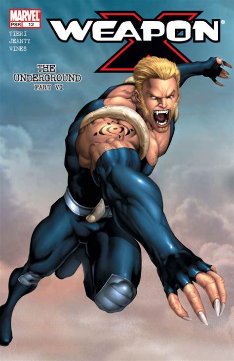 Komik Cabutan Amazing Weapon Vol 12 weapon x vol 2 12 marvel database fandom powered by wikia