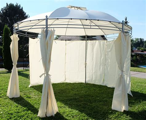 pavillon rund wasserdicht eleganter gartenpavillon pavillon 3 5 meter durchmesser