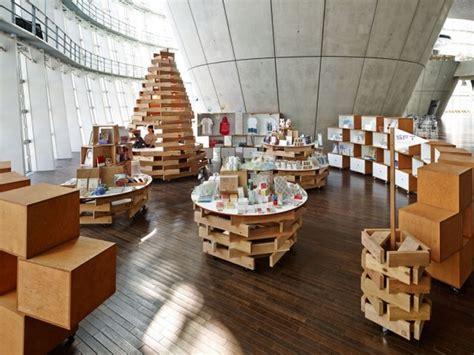 art design souvenirs museum shop at national art center by torafu architects