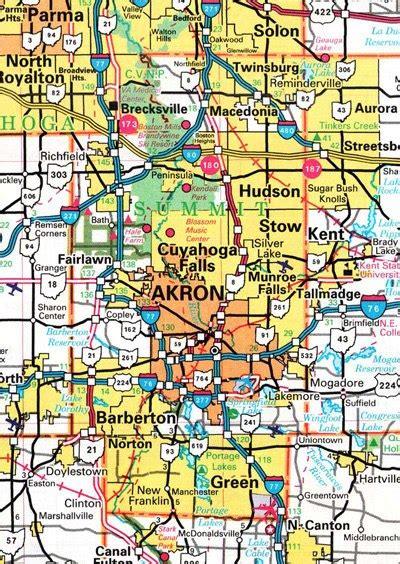 Summit County Search Summit County Ohio Map Ohiobiz