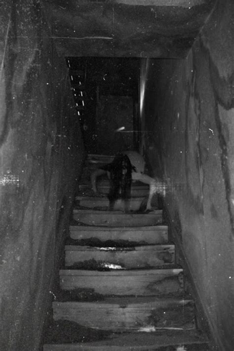 scary photography creepy stairs yikes batwingdreams