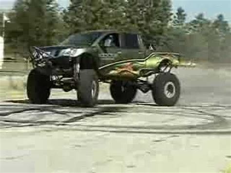 supercharged nissan titan supercharged nissan titan 46 quot baja claws destroyed