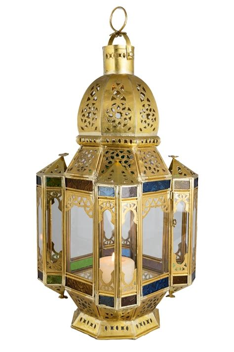 Messing Laterne by Orientalische Messing Laterne Moulati Aus Glas Metall