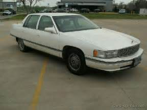 1995 Cadillac Tire Size 1995 Cadillac Sedan Specifications Pictures Prices