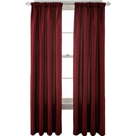 encore curtains royal velvet encore rod pocket back tab curtain panel 40