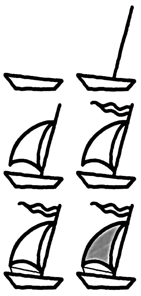 how to draw a boat step by step how to draw a boat step by step 12 great ways how to
