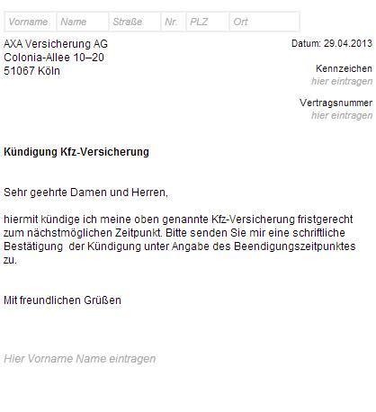 Kfz Versicherung K Ndigen Vorlage Huk24 by Gro 223 Z 252 Gig Vorlage F 252 R Versicherungsfreigabeformular