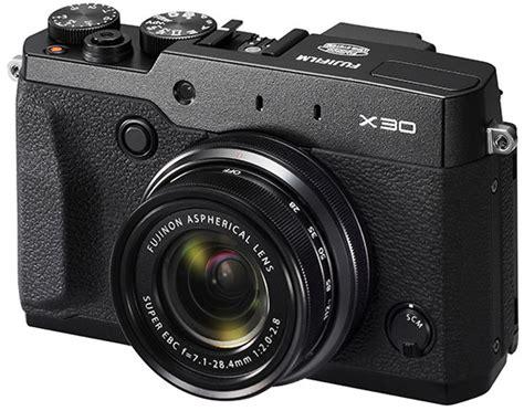 fuji compact fuji x30 compact officially announced photo rumors