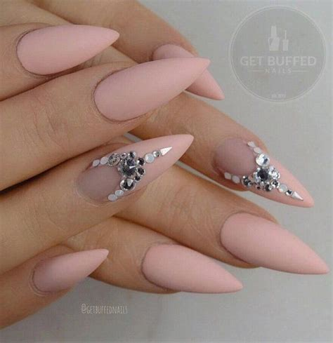 Rhinestone Nails by 50 Rhinestone Nail Ideas Almonds Shapes And