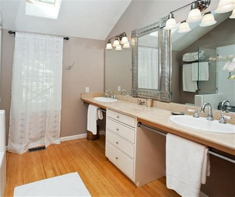 can bamboo flooring be used in a bathroom gloss bamboo flooring in bathroom flooring ideas