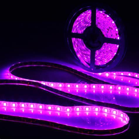 purple led light strips 0 5 1 2 3 4 5m uv l ultraviolet purple waterproof ip65 led light 12v dc 5050 smd black